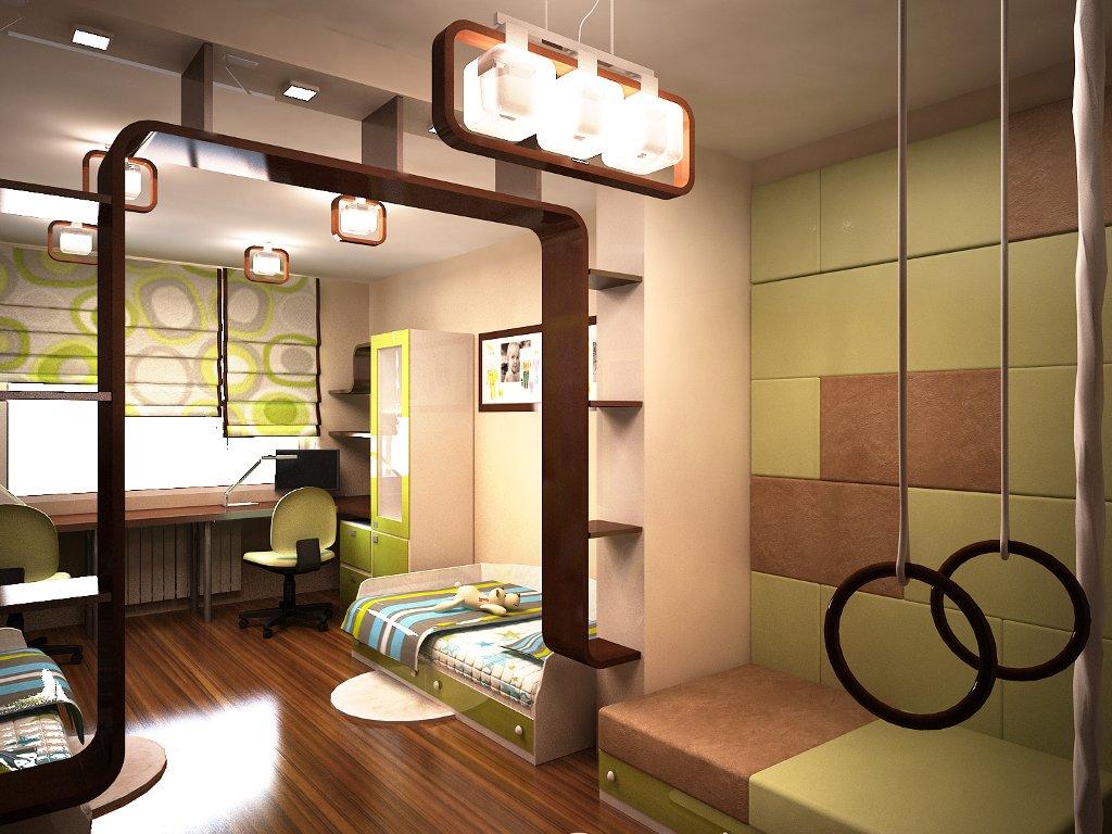 дизайн комнаты для двух девушек фото