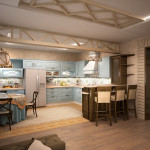 Дизайн гостиной прованс
